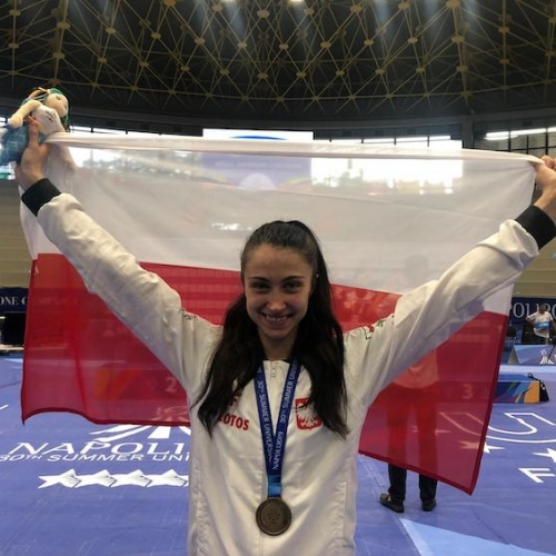 Patrycja Adamkiewicz brązową medalistką Uniwersjady Neapol 2019 w kat-57kg