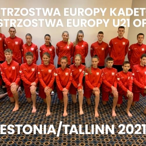 Mistrzostwa Europy Kadetów oraz Młodzieżowe Mistrzostwach Europy U21